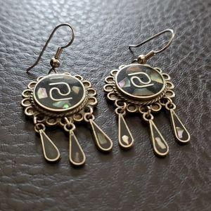 VTG Alpaca Mexico earrings